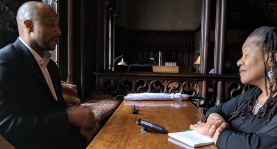 Chicago Sun-Times interview Sultan A. Salahuddin and Maudlyne Ihejirika